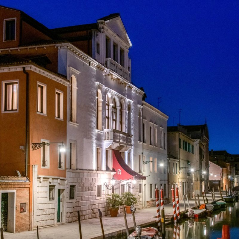 dei dogi venezia vista dal canale